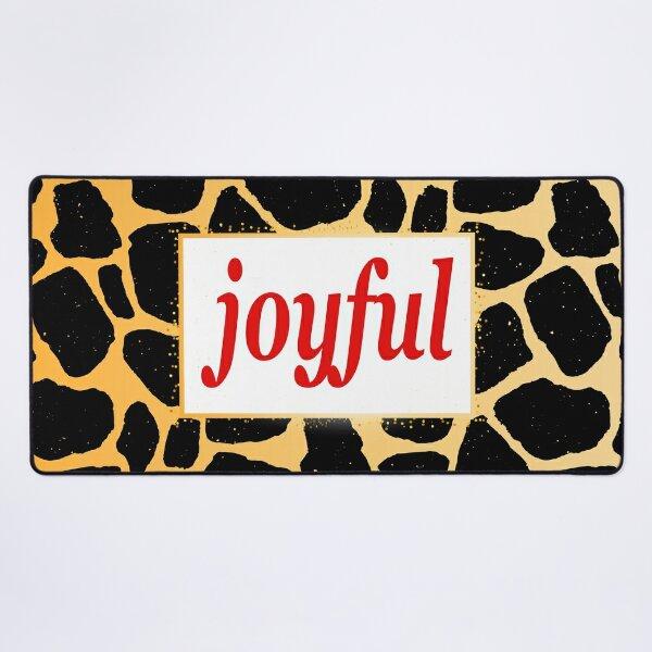 Joyful Desk Mat
