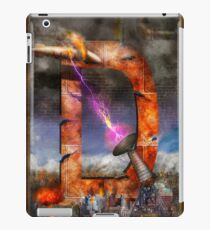 Steampunk - Alphabet - D is for Death Ray iPad Case/Skin