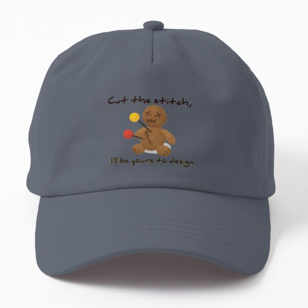 Cut The Stitch, Yours To Design - James Marriott Design Dad Hat