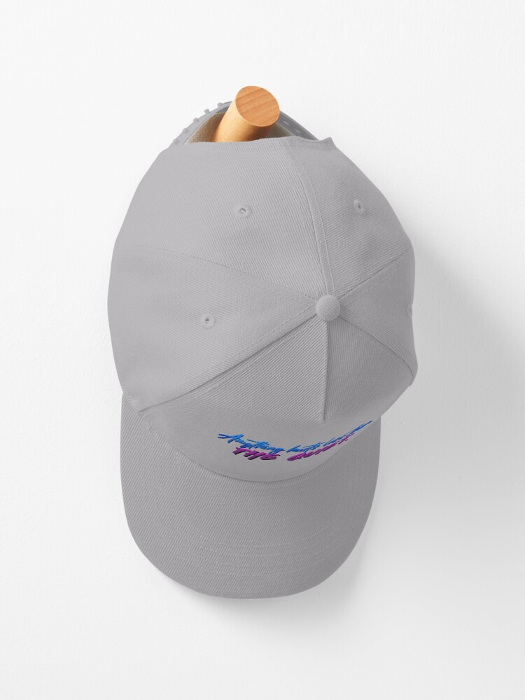 Alternate view of Anything Hurts Less Than The Quiet - Troye Design Cap