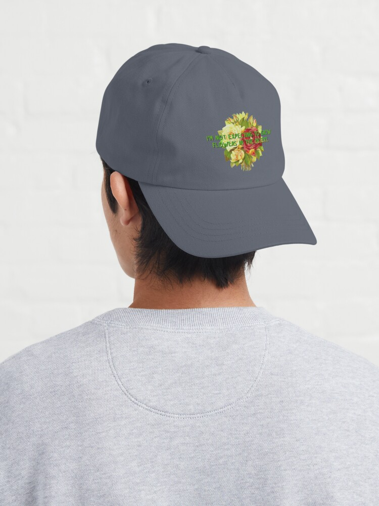 Alternate view of Not Expecting Flowers in The Desert - Big Country Design Cap