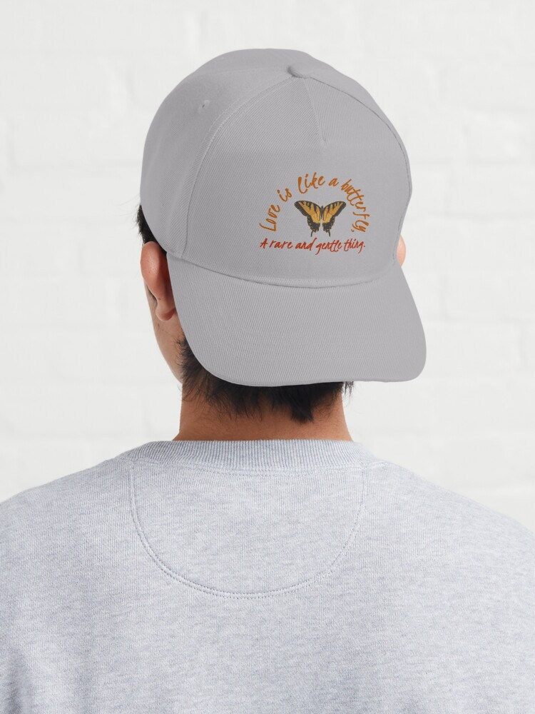Alternate view of Love Is Like A Butterfly - Dolly Parton Design Cap