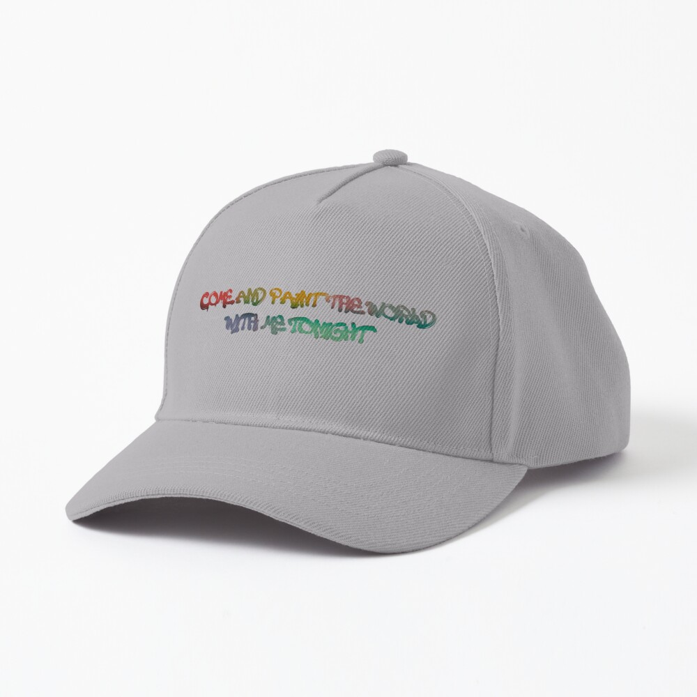 Come and Paint The World With Me - Kesha Design Cap
