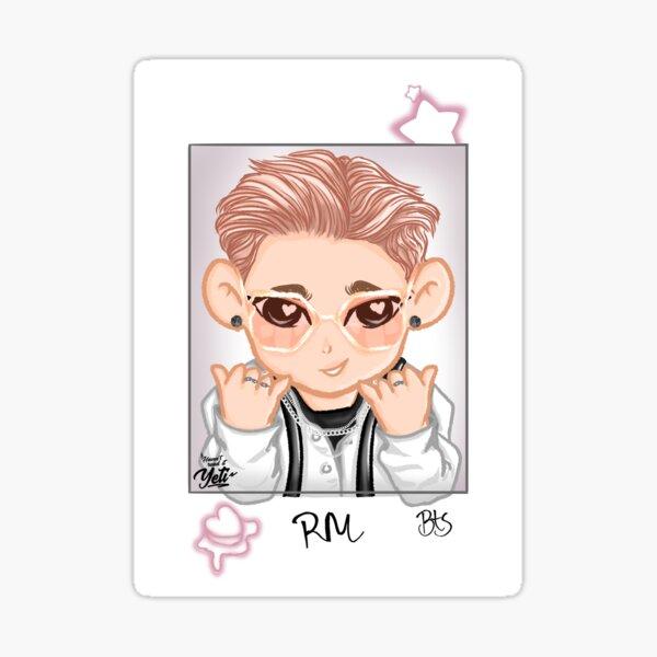 RM Rap Monster Namjoon BTS Butter Chibi - no highlight Sticker