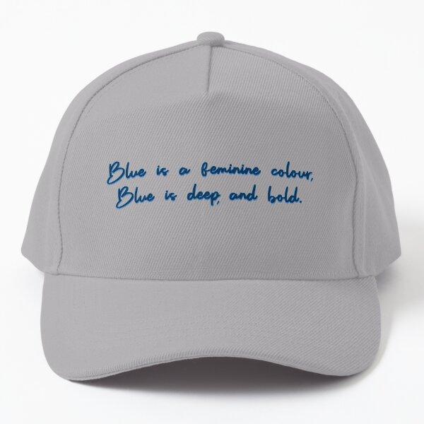 Blue, A Feminine Colour - MIKA Design Baseball Cap