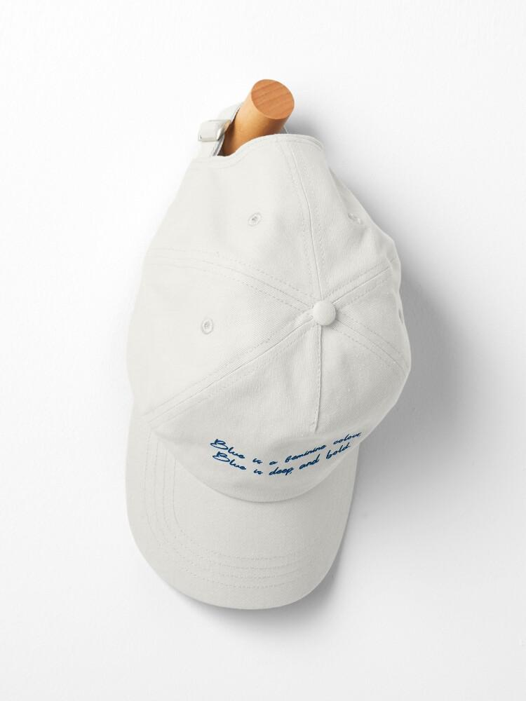 Alternate view of Blue, A Feminine Colour - MIKA Design Cap