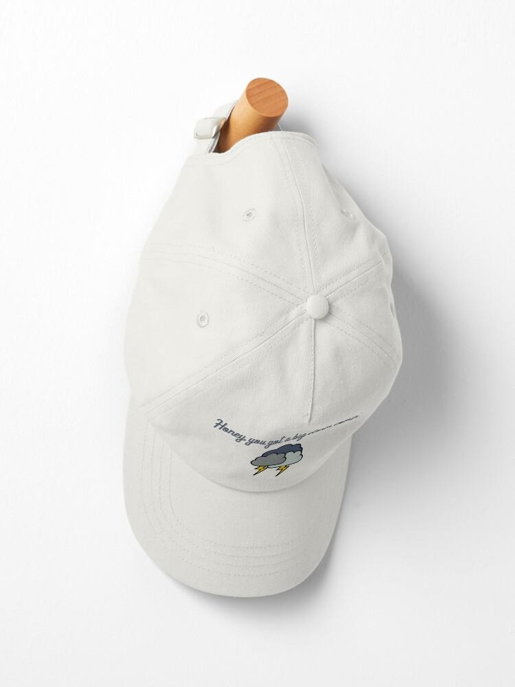 Alternate view of Honey, you got a big storm comin' - Vine Design Cap