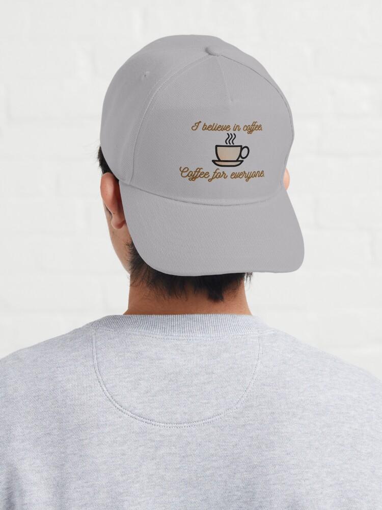 Alternate view of I Believe In Coffee - Daria Morgendorffer Design Cap