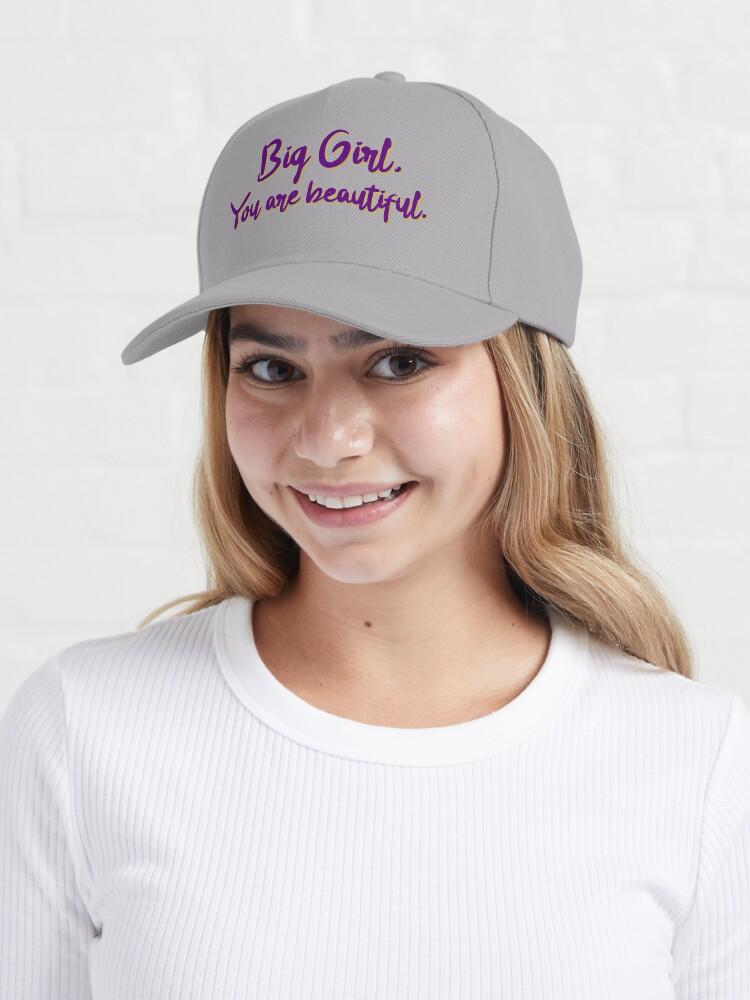 Alternate view of Big Girl, You Are Beautiful - MIKA Design Cap