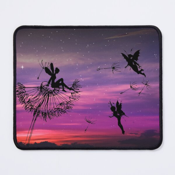 Fairies in the Sunset Mouse Pad