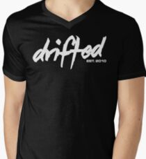 Drifted Classic Tee - Black Men's V-Neck T-Shirt