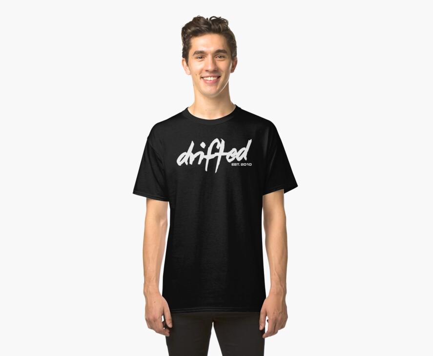 Drifted Classic Tee - Black by driftedshop