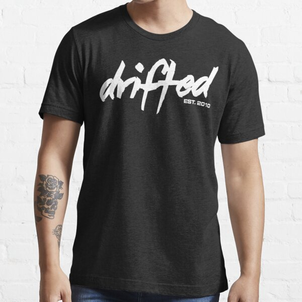 Drifted Classic Tee - Black Essential T-Shirt