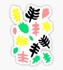 Paradise Tropic black Sticker