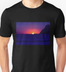 Sunset at Port Erin Unisex T-Shirt