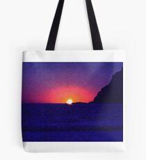 Sunset at Port Erin Tote Bag