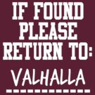 If Found, Please Return to Valhalla by rexannakay