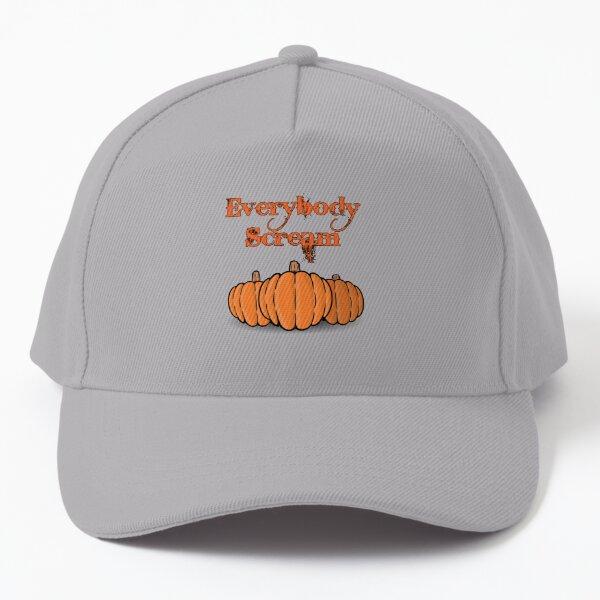 Everybody Scream Halloween Pumpkin Baseball Cap