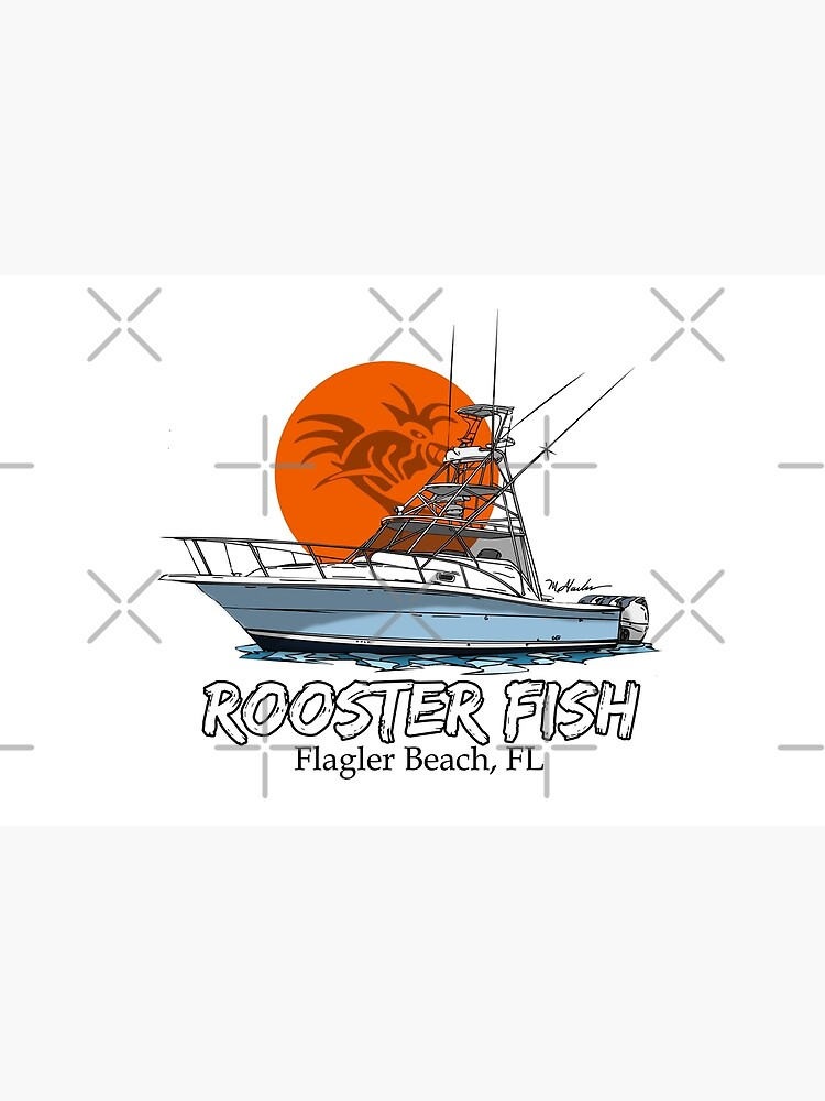 Rooster Fish Flagler Beach, Florida by Statepallets