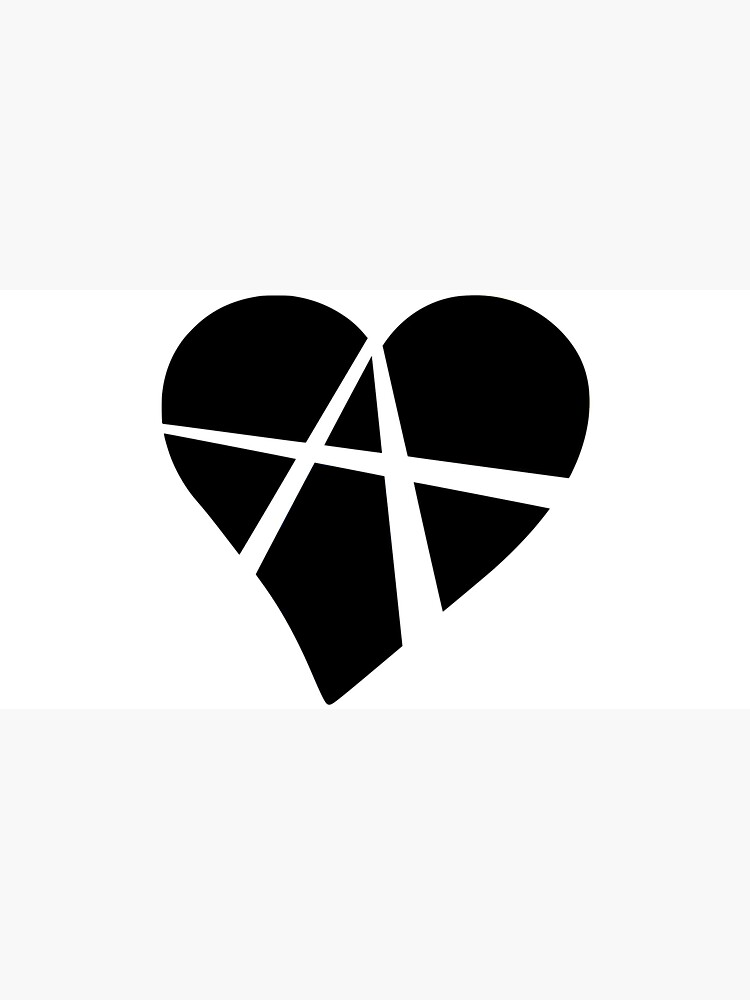 Black Relationship Anarchy Heart by polyphiliashop