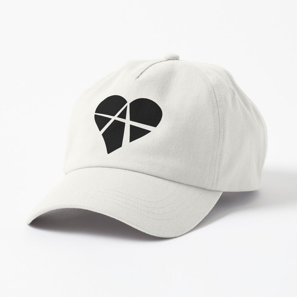 Black Relationship Anarchy Heart Cap