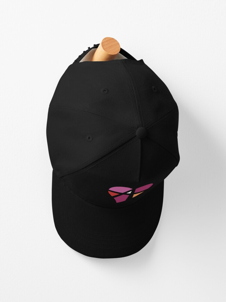 Alternate view of Lesbian Relationship Anarchy Heart (White) Cap