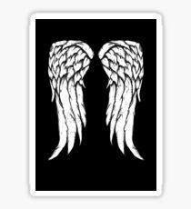 Daryl Dixon Wings - Zombie Sticker