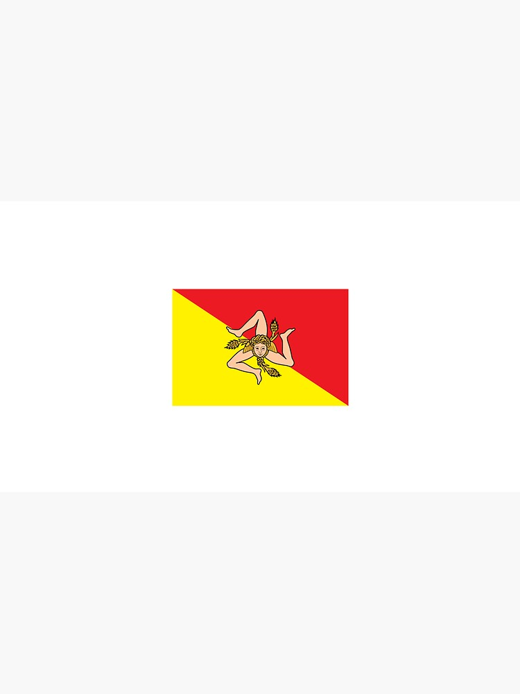 Sicilian Flag by ItaliaStore