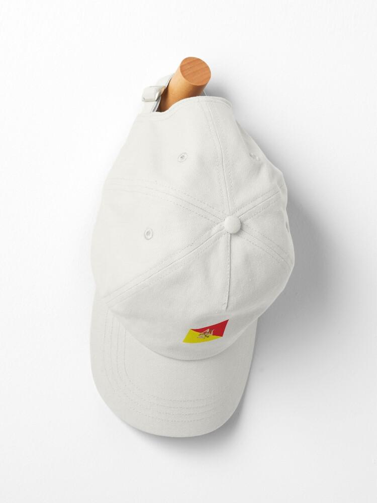 Alternate view of Sicilian Flag Cap