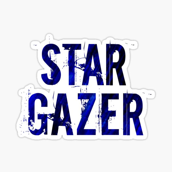 Star Gazer Sticker