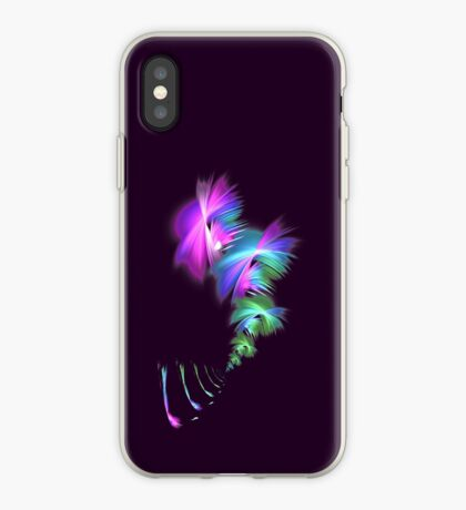 Fly away #fractal iPhone Case