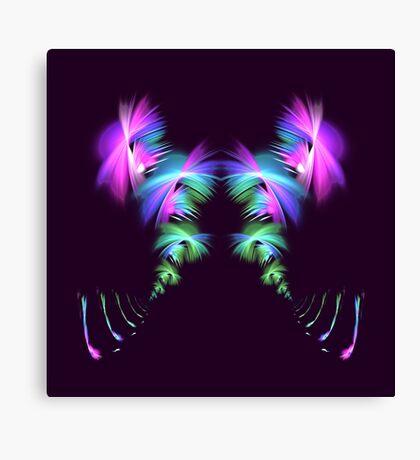 Fly away #fractal Canvas Print