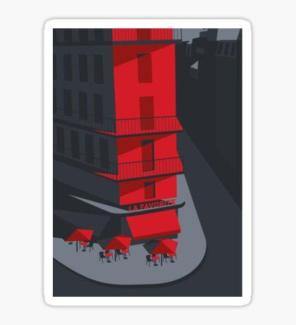 Paris Street Sticker