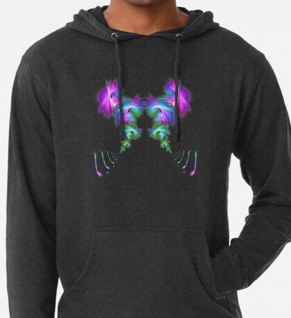 Fly away #fractal Lightweight Hoodie