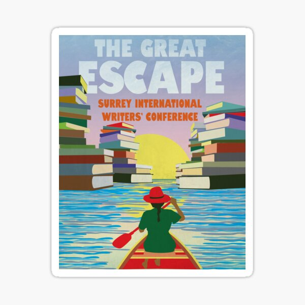 CANOE: The Great Escape Surrey International Writers' Conference Sticker
