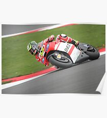 Silverstone MotoGP - Crutchlow Poster
