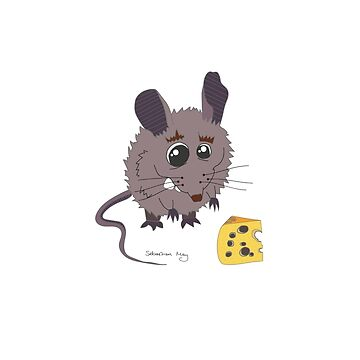 Bettina the Mouse by sebastianmay
