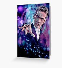 The Twelfth Doctor Greeting Card