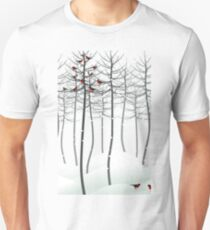 Bird in wood T-Shirt