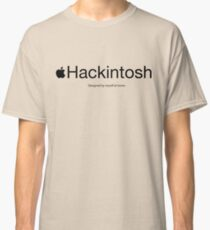 Hackintosh - Black Classic T-Shirt