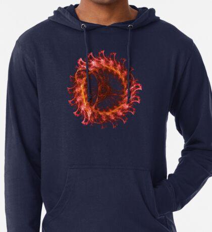 I am the Fire! #fractal Lightweight Hoodie