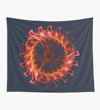 I am the Fire! #fractal Wall Tapestry