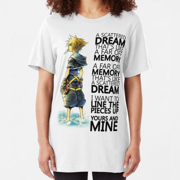 A Scattered Dream Slim Fit T-Shirt