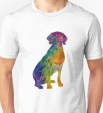 Polish Hound in watercolor Unisex T-Shirt