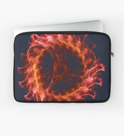 I am the Fire! #fractal Laptop Sleeve