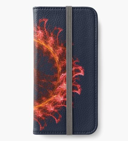 I am the Fire! #fractal iPhone Wallet