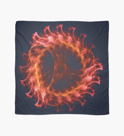 I am the Fire! #fractal Scarf