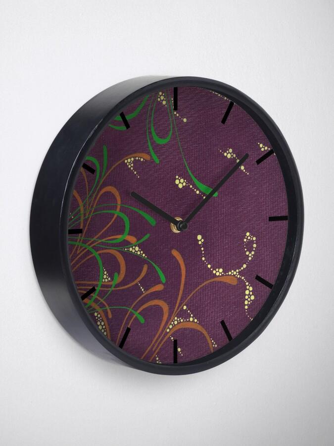 Alternate view of Chasing Fireflies Clock
