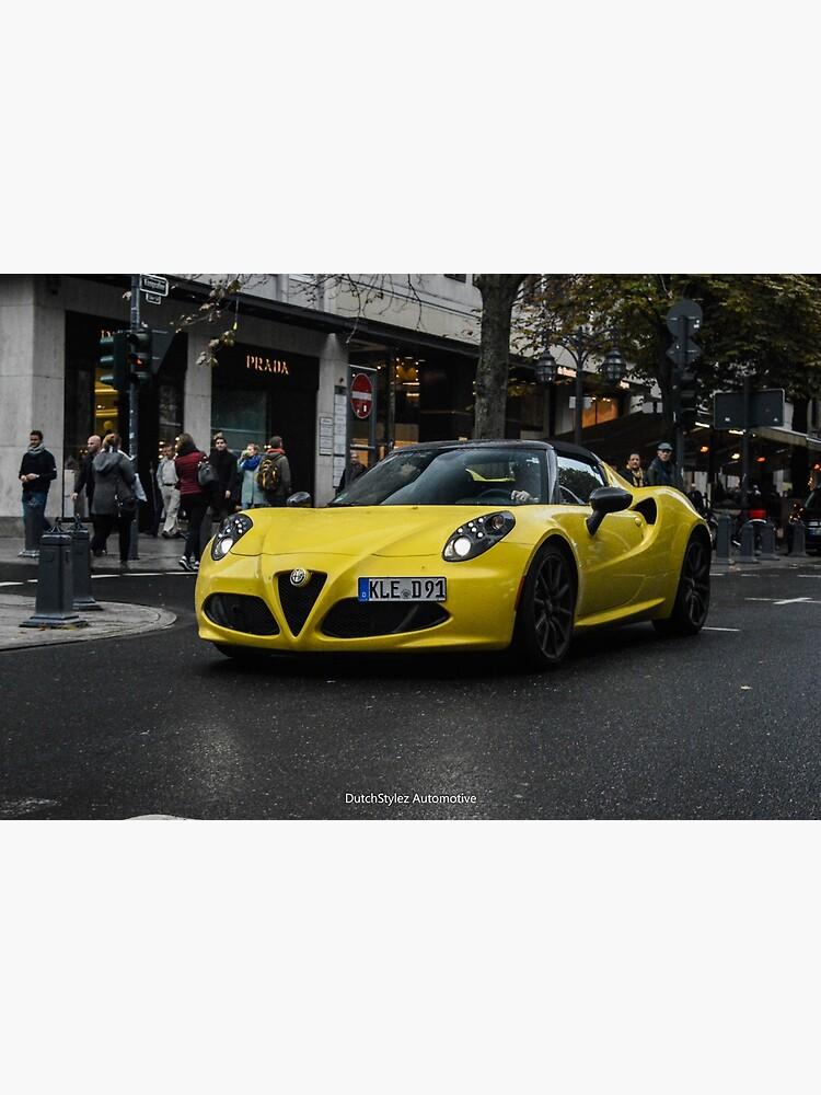 Alfa Romeo 4c Spider by DutchStylez