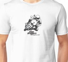 Knee Draggers - Life begins at 45° Unisex T-Shirt